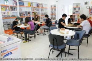 Biblioteca SESI Indústria do Conhecimento Unidade: Sapiens Parque